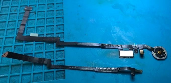 ipad 5 home button repair after customers diy screen repair attempt